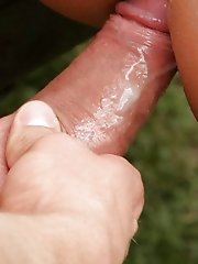 As they all reach orgasm, you longing wish you were there shooting your cum with them outdoor male nudists