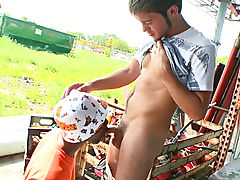 Kind of hard to miss him gay interracial sample video