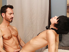 When Bryan Slater has a stressful day at work, that guy comes home and takes it out on his little serf boy, Kyler Moss gay hardcore sex magazine at Ba