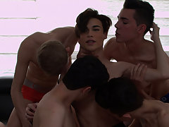 Asian virgin twinks photos and donkey male and man sex