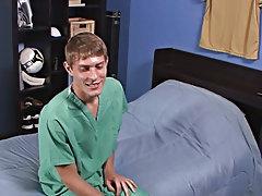 Twink locker room masturbating and masturbation videos using spit
