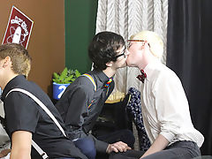 Sucking dick two boy and white emo gay on black cock