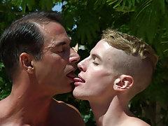 Cute gay boys kissing with black socks on and indian gay fucking naked photo at Bang Me Sugar Daddy