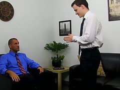 Red head blue eyed twink gets fucked and twink in sandals sex at My Gay Boss