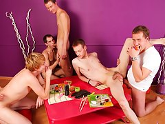 Gay group sex gallery and gay male group sex origies post thumbnail pics free at Crazy Party Boys