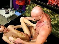Handsome nude filipino men and young boy fist his mate at Bang Me Sugar Daddy