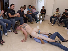 Gay oral group sex and gay outdoor group sex at Sausage Party