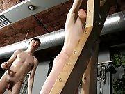 Male gay farm slave and...