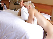 Puppy pounce gay sex with...