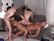 Teen twink briefs strip at Staxus