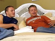 Hot gay twink blowjobs and...