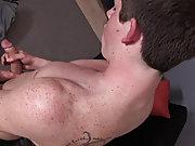 Male solo anal masturbation...