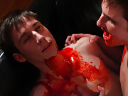 Twink fucked so hard he cums and hot twink showing off his ass - Gay Twinks Vampires Saga! gay nudist camp