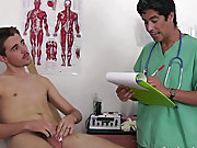 I had Justin lean back on the exam table as I took hold of his genitals once again and I stroked his cock men masturbate alone vide