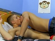 Mouths meet cocks and lollipop before Dylan gets Max's cock up his ass gay black twink