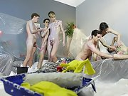 Young gay men jacking off...