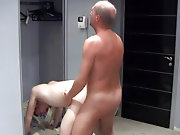 He spotted this naughty-looking pumped up twink showing off his well-build body to the changeroom mirror mature men masturbatin gay older chat room