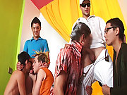 Group sex andnot gay teen...