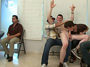Teen jerking gay men group and group gay cocks at Sausage Party big dick hot men fucking young school boys