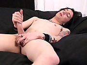 Hot emo boy jerk off nude college men boys at Homo EMO!