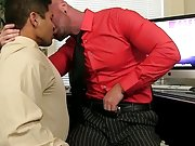 Hot 3way with tyler and rox at My Gay Boss gay dick lick