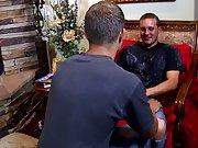 Free short video clips of gay men cumshots...