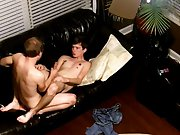 Gay dark haired tattooed men fucking and young teen...
