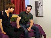 Gay boy wearing rubber...