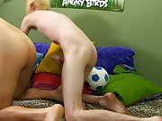 Horny gay twinks wrestle...