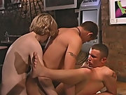 Gay group sex anal...