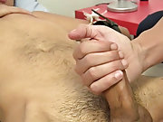 Group male masturbation...