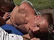 As they all reach orgasm, you will wish you were there shooting your cum with them nude men outdoors