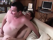 Absorbed in the words, the mature man did not see his younger lover come and sit nearby mature men tearing int free sexy bare boobs