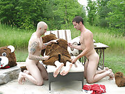The guys have got themselves a bear this week naked hunky erect men