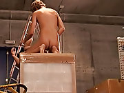 The sexual atmosphere is so intense: two fucking, one masturbating twinks gay dicks free videos