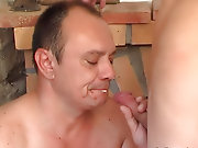A guy leafs washing one's hands of a porn-ammunition when his old mature friend enters the apartments suddenly nude hunks and guys birthda ladyboy foreskin