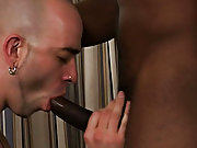 Jay was used to giving gay guys the business end of his important ebony cock, so he was a little shocked when he came to do this fervid shoot with Sam