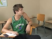 Ashton Rush and Brice Carson are at school practicing Romeo and Juliet and Ashton is getting cheeky with Brice, teasing him for his adorable southern man boy sex stories