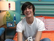 Twink pornstar Aidan Hunting is on set on a adroit bed and he's talking about anything and everything gay twinks fuck