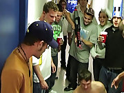 They got these two guys that are trying to get into their frat, and they completely humiliate them group fuck gay raw fucking gay