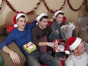 I think that Justin scarcely might be the horniest elf we have today old gay men fucking group at Broke College Boys!