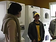 Manuel ran into our boys at the apartment laundry scope, and we thought that it would be a good idea to get to know the neighbor a little better gay d