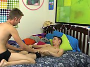 Kirk Taylor has arrived instead of dinner and his adorable, wonderful horny waiter is Seth Serenity red head gay twinks