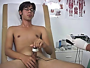 Putting some kind of plug in my ass he hooked it up to the gizmo and that too was sending me the pulsating shocks clean dush gay twink you